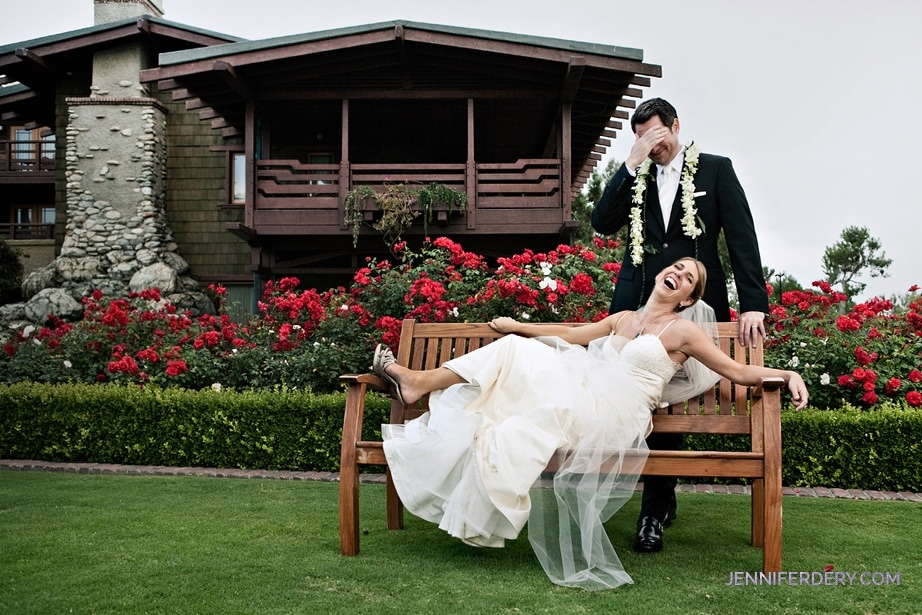 wedding photos at the lodge torrey pines